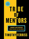 Image of Tribe of Mentors Jacket Cover